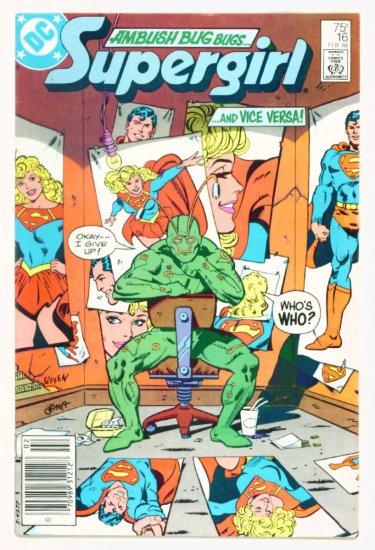 SUPERGIRL #16 DC Comics 1984 Daring New Adventures