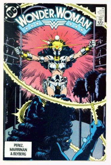 WONDER WOMAN #34 DC Comics 1989