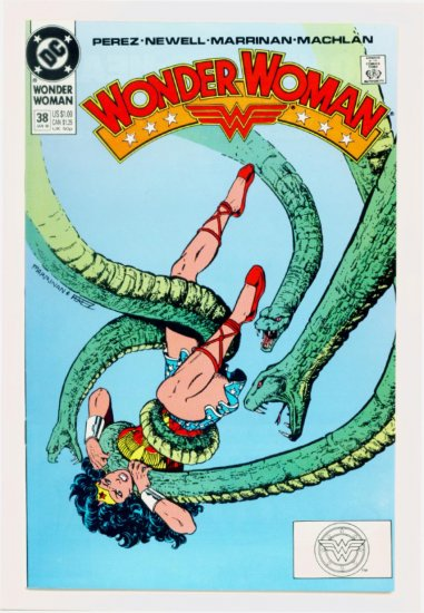 WONDER WOMAN #38 DC Comics 1990