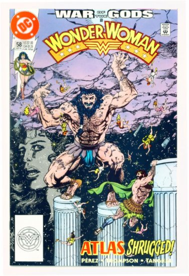 WONDER WOMAN #58 DC Comics 1991