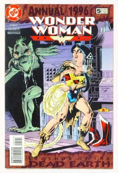WONDER WOMAN ANNUAL #5 DC Comics 1996 John Byrne