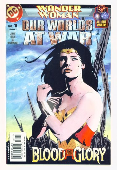 WONDER WOMAN OUR WORLDS AT WAR #1 DC Comics 2001