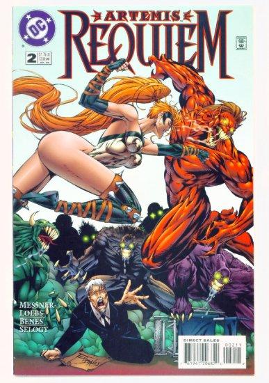 ARTEMIS REQUIEM #2 DC Comics 1996