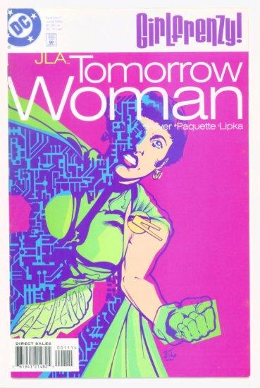 TOMORROW WOMAN #1 DC Comics 1998 Girlfrenzy