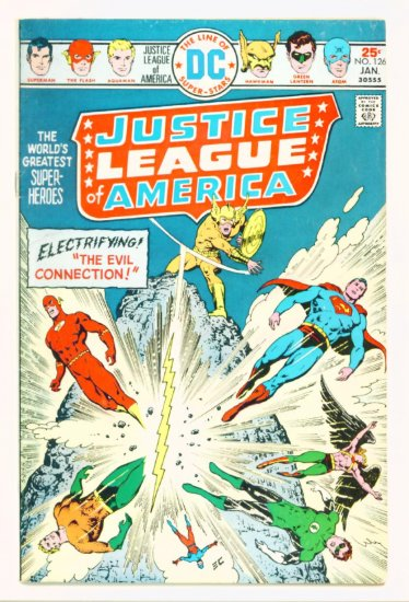 JUSTICE LEAGUE of AMERICA #126 DC Comics 1976