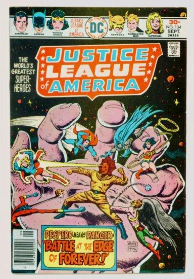 JUSTICE LEAGUE of AMERICA #134 DC Comics 1976