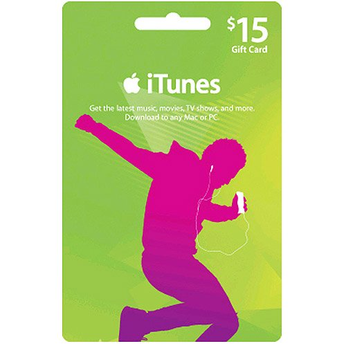 $15 Apple iTunes US Store Gift Card for iPod iPhone