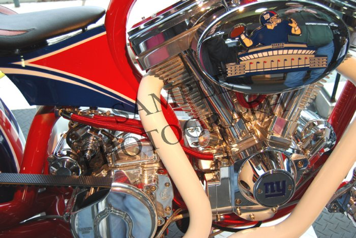 Orange County Choppers - Detail - NY Giants