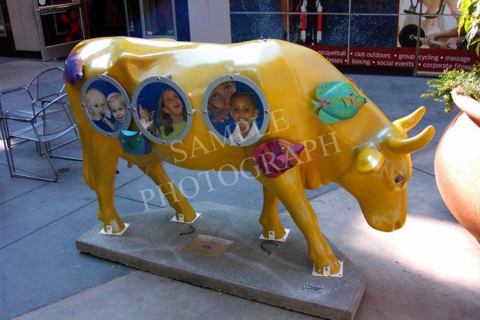 Cows On Parade - Yellow SubmOOrine