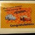 """Cars"" themed Congratulations card"