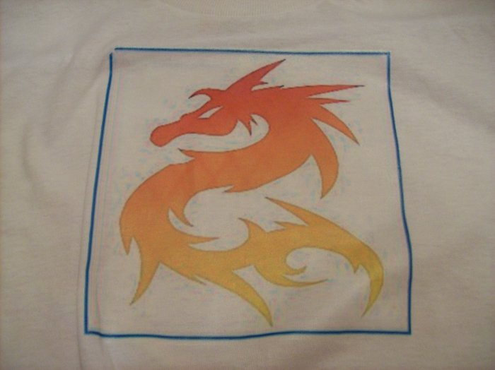 10-12, white, orange flame dragon
