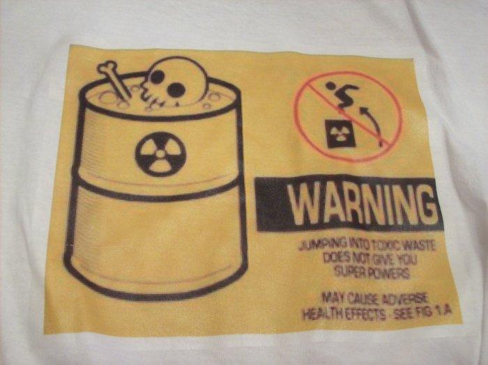 38-40, white, WARNING - toxic waste