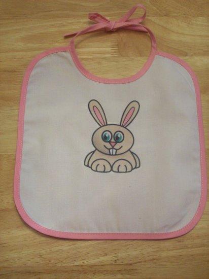 Pink, brown bunny