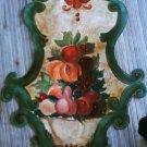 fruit harvest on canvas