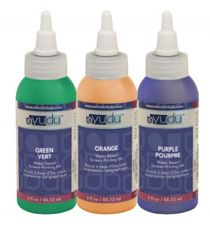Yudu Ink Secondary Colors Green/Orange/Purple