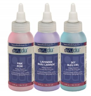 Yudu Ink Pastel Colors Pink/Lavender/Sky