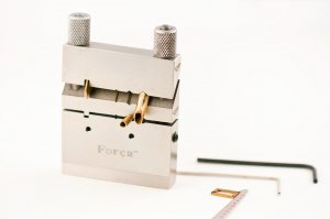 Forca RTGS-467 Jewelry Miter Cutting Tubing Jig Vise -  45°, 90° & 135° Degree Cutter Tool