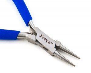 """Forca RTGS-210 Jewelry Wire Looping Round Nose Jaws  5.50"""" ~ 140mm."""