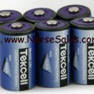 6x Tekcell SB-AA02 Lithium Battery GE ADT ITI Alarm, Apple Mac iMac Computer, Dog Collar - FREE SHIP