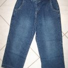 "CASABLANCA LADIES CAPRI JEANS SIZE 4 W30""XL23"""