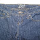 ZANA DI JEANS STRETCH LOW RIDER JEANS SIZE 1 DARK BLUE