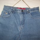 WOMEN'S GLORIA VANDERBILT STRETCHED DENIM JEANS W30xL32