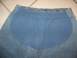MATERNITY JEANS BY DIVIDENDS MISSES SIZE 12
