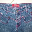 GIRLS/JUNIORS HIPSTAR STRETCH JEANS SIZE 3-4 W28xL31