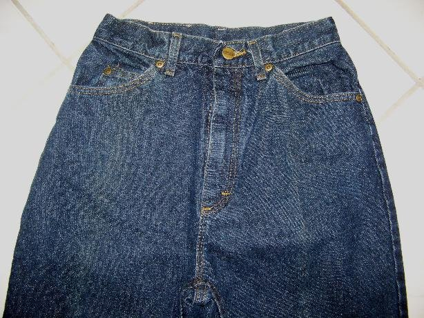 WOMEN�S L. L. BEAN NATURAL FIT INDIGO BLUE JEANS W26xL33