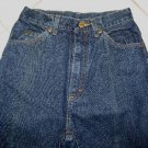 WOMEN'S L. L. BEAN NATURAL FIT INDIGO BLUE JEANS W26xL33