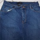 WOMEN'S NEW YORK & CO. STRETCHED BLUE JEANS W30xL29