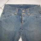 JUNIOR'S/GIRLS LUCKY BRAND LOW RIDER BLUE JEANS W28xL32