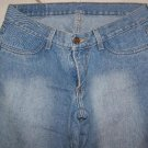 WOMEN'S UNION BAY LIGHT BLUE LOW RIDER JEANS W30xL27