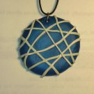 Blue and White Pendant