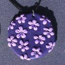 Violets Pendant