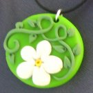 Daisy and Vine Pendant