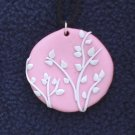 Pale Pink Tree Pendant