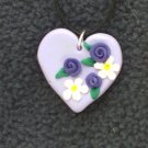 Purple Bouquet Pendant