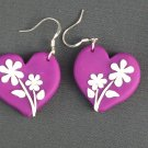 Daisy Heart Earrings