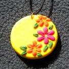 Bright Sunshine flower pendant