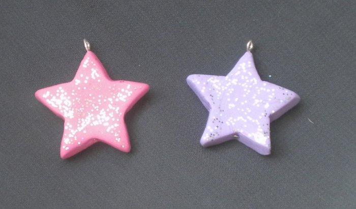 Glitter Star Pendant