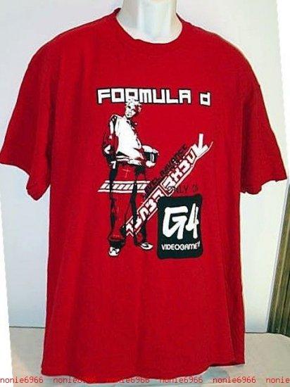 RED T-SHIRT G4 Video Game TV cotton MENS xl