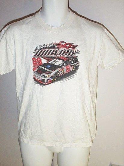 FREE SHIPPING KEVIN HARVICK #29 T-Shirt NASCAR Racing Chase size Youth XL