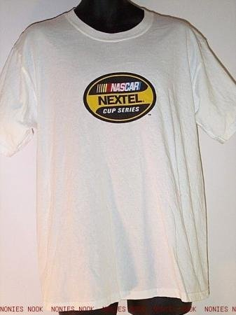 FREE SHIPPING NASCAR NEXTEL Cup Series T-SHIRT soft cotton size L LARGE 100803