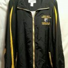 FREE SHIPPING ARMY ROTC JACKET windbreaker MORGAN COPPIN STATE Universities 2xl black yellow