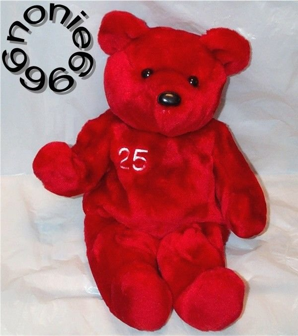 BIG BAMMERS BEANIE bear MARK MCGWIRE #25 St Louis Cardinals Salvino MLB retired