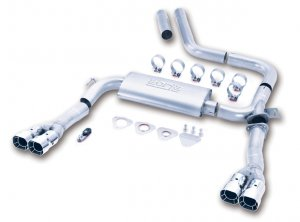 1998-2002 Camaro V6 Borla 3 in Dual Exhaust 14813