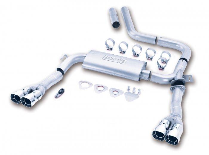 1998-2002 Camaro Z-28 Borla 3 inch Exhaust 14780