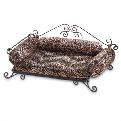 Safari Print Pet Bed