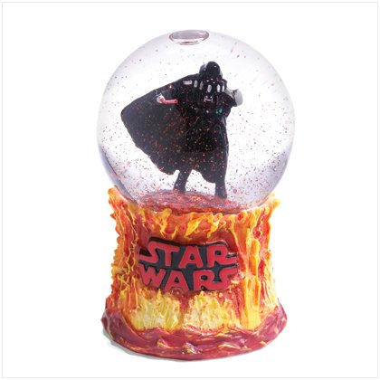 NEW! Darth Vadar Mini Waterglobe